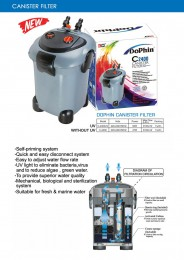 Dophin C-2400 UV Canister Filter
